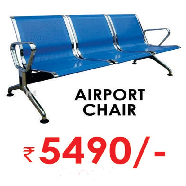 Three Seater Airport Sofa/Reception Visitor/Waiting Chair