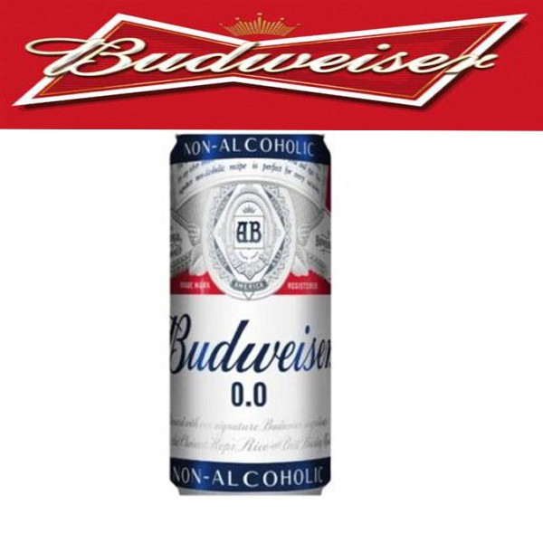 Budweiser Non-Alcoholic Beer 330ml