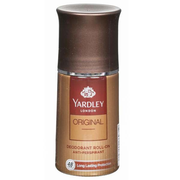 YARDLEY LONDON ROLL-ON DEODORANT 50ML