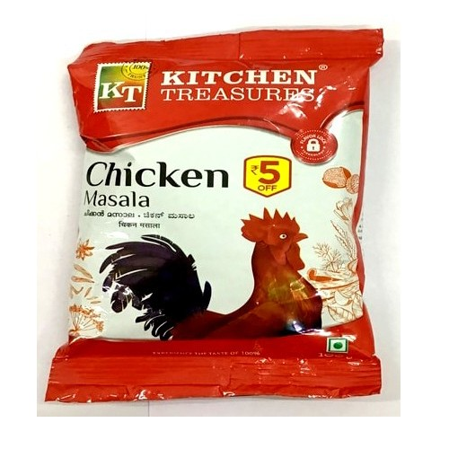 KITCHEN TREASURES CHICKEN MASALA 100GM (25% OFF)