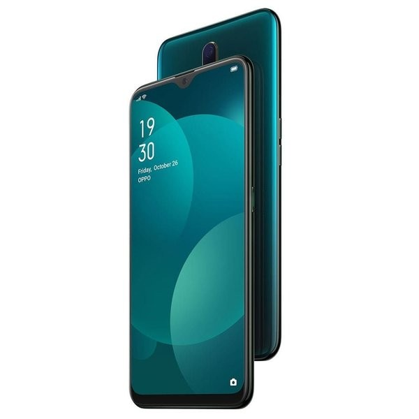 OPPO F11 (Marble Green, 128 GB) (6 GB RAM)+CREATION LAMIS PURE BLACK FREE WORTH ₹899