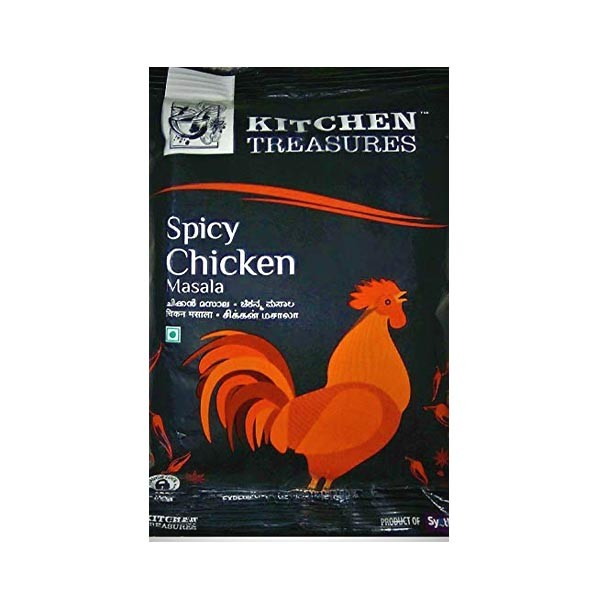 kitchen treasures spicy chicken masala 100 g