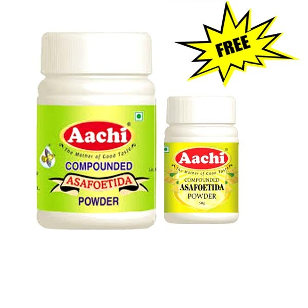 Aachi Compounded Asafoetida Powder 100 gm+50 gm free