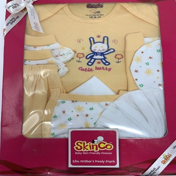 SkinCo Baby Skin Friendly Dresses Gift Pack 7 pcs