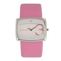 Fastrack Economy Analog White Dial Women's Watch-NK6013SL01