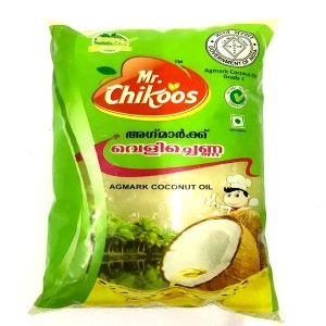 MR.CHIKOOS AGMARK COCONUT OIL 1 LTR