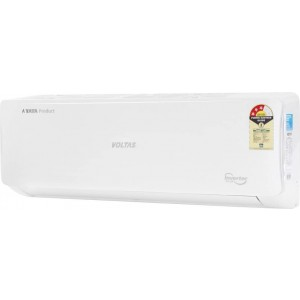 Voltas 1.0 Ton 3 Star Split Inverter AC - White (123VCZT, Copper Condenser)