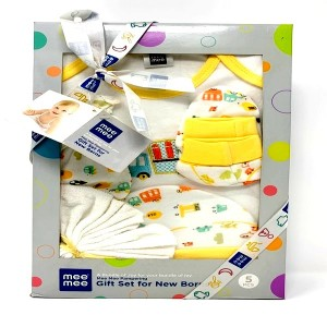 Mee Mee New Borns Gift Set 5 pcs