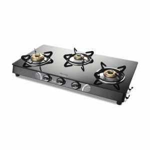 VIDIEM GLASS TOP AIR PLUS 3 BURNER GAS STOVE