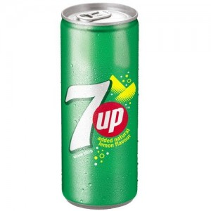 7 Up 7 Up Soft Drink - Lemon, 250 ml Can