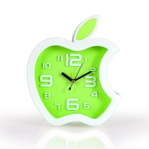 APPLE SHAPED GOOD LOOKING ALARM CLOCKS