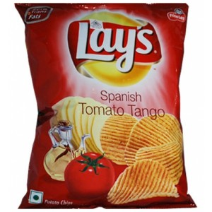 Lay's Spanish Tomato Tango Chips 90 gm