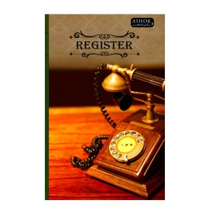 ASHOK REGISTER BOOK RULED