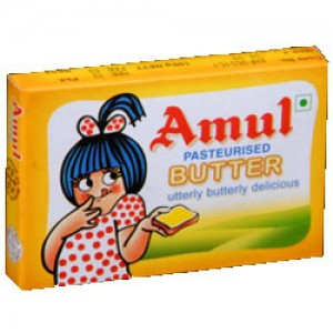 Amul Butter - Pasteurised, 100g Pack