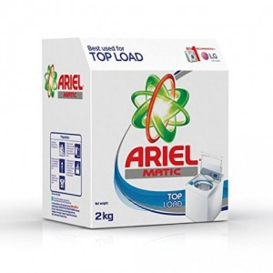 Ariel Top Load, 2kg Carton Detergent Washing Powder