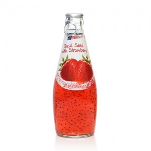 AMERICAN DELIGHT BASILSEED DRINK STRAWBERRY(300ML)