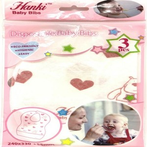 HANKI DISPOSABLE BABY BIBS(3 PCS)