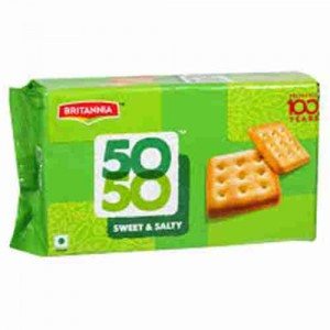 Britannia 50-50 - Biscuits Sweet & Salty, 150 gm