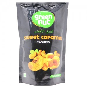 Green nut sweet caramel cashew