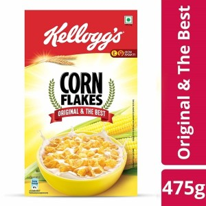 Kellogg's Corn Flakes With REAL HONEY (125 g, Pouch)