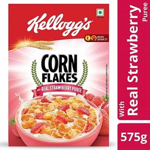 Kelloggs Corn Flakes Real Strawberry puree 100 gm