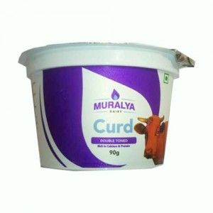 MURALYA DOUBLE TONED CURD 90g