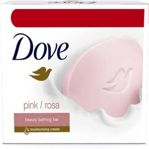 DOVE Beauty Bathing Soap (300 g, Pack of 3)