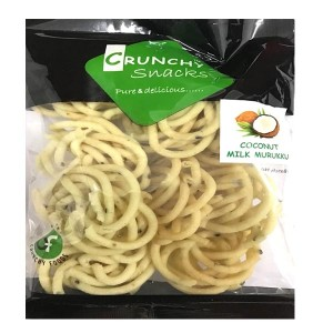 crunchy snacks coconut milk murukku 120g