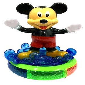Musical Toys for Infants Kids Babies Spinning Mickey Mouse with Music and Lighting Toy