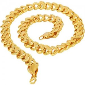 serveuttam Most Popular Gold-plated Plated Stainless Steel Chain