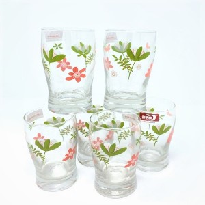 Deli Glass Ware 6 PCS