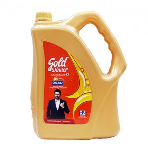 Gold Winner Refined Sunflower - Oil, 5 L Can