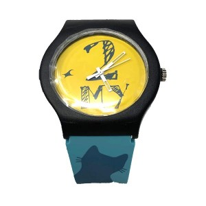 Fastrack Unisex Black & Blue Analogue Watch 9915PP66