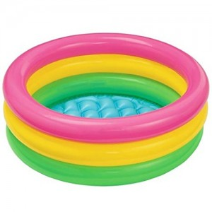 Sunset Glow Baby Pool , Kids bath tube (Multicolor)