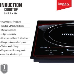 IMPEX INDUCTION COOKTOP OMEGA L 4