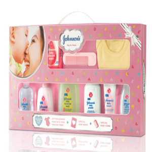 Johnsons's Baby Care Collection(Pink)