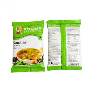 KITCHEN TREASURES SAMBAR POWDER 100GM