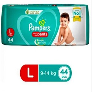 PAMPERS PANTS 44 PANTS(LARGE 9-14kg)