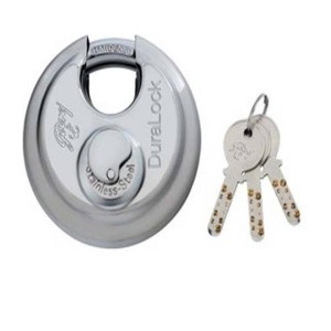Godrej Locks Duralock - 3 Keys (70mm, Silver)