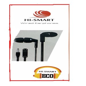 HI SMART ECO WIRED EARPHONES
