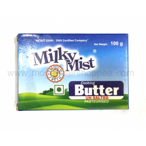 Milky Mist Cooking Butter - Unsalted,100 gm Pouch