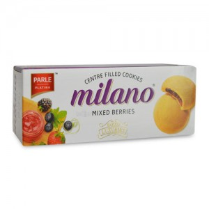 Parle Milano Centre Filled Mixed Berries, 75 gm