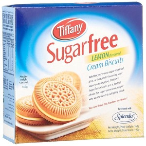 Tiffany Biscuit Sugar Free Lemon, 162g