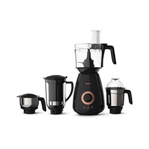 Philips Vita Plus 750-Watt Mixer Grinder with 4 Jars (Black)