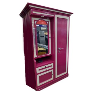 Cupboard (Alamara PINK WITH DRAWER)