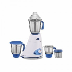 Preethi MG-149 600 W Mixer Grinder (White, 3 Jars)