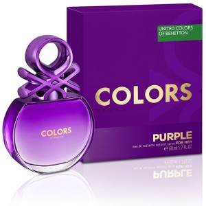 Colors Purple Toilette Natural Spray For Her 80 ml