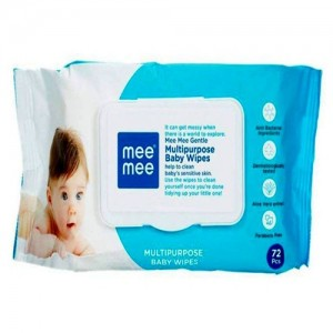 Mee Mee Gentle Baby Wipes (72 pcs)