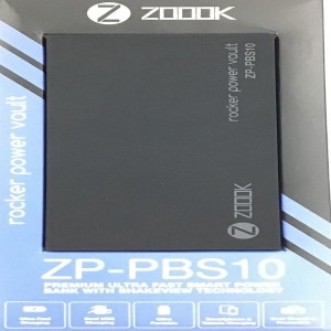 ZOOOK POWER BANK ZP-PBS10 (10000mAh)