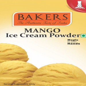 BAKERS MANGO ICE CREAM MIX POWDER(100GM)